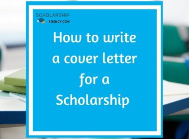 How to write a cover letter for a Scholarship | Complete Guide