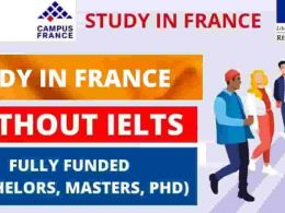 Scholarships in France Without IELTS - Fully Funded | 2021-2022